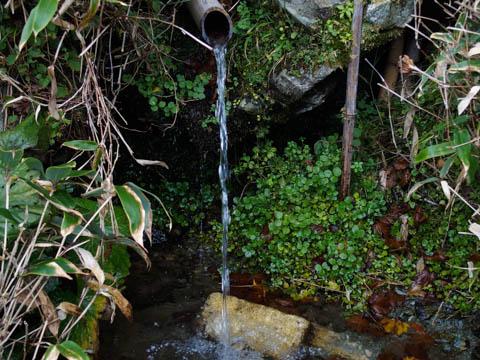 三嶺の湧水