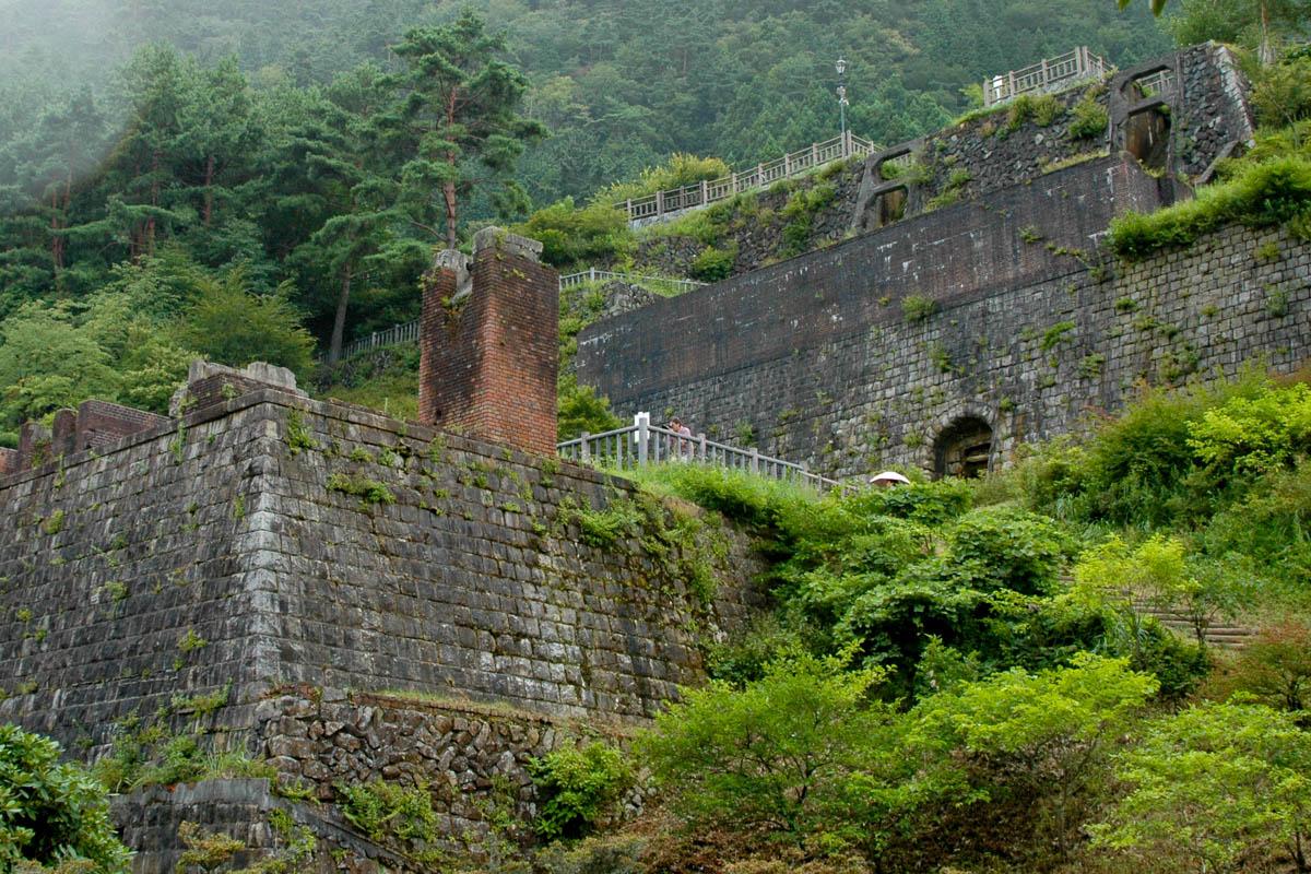 愛媛県の別子銅山
