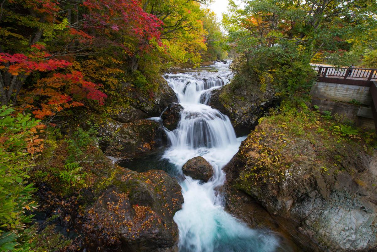 北海道の三階滝