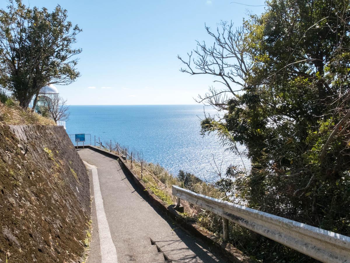 室戸岬灯台の遊歩道