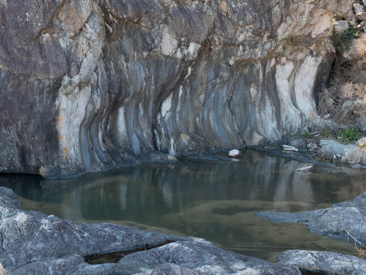 室戸岬の行水の池