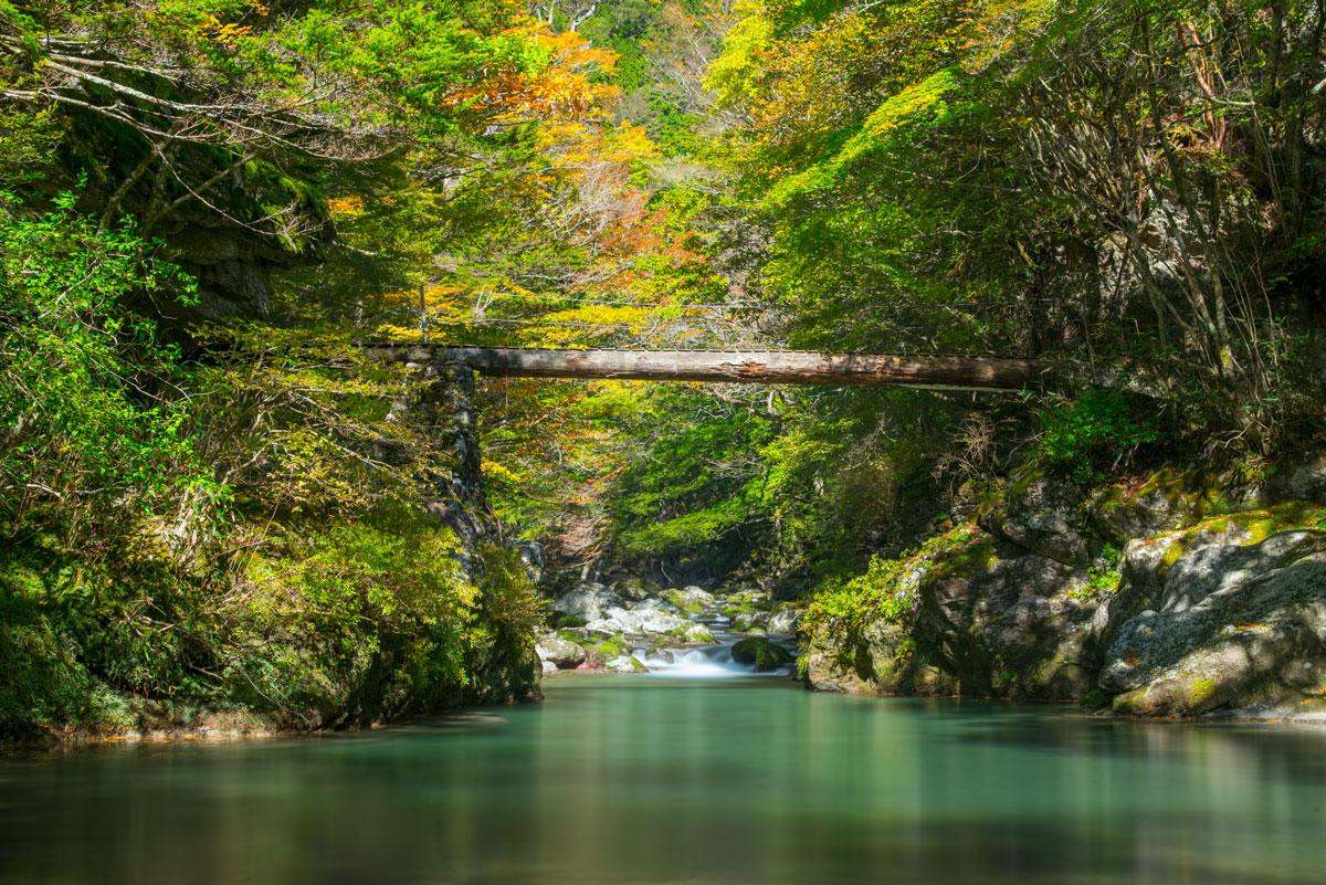 小田深山渓谷の紅葉