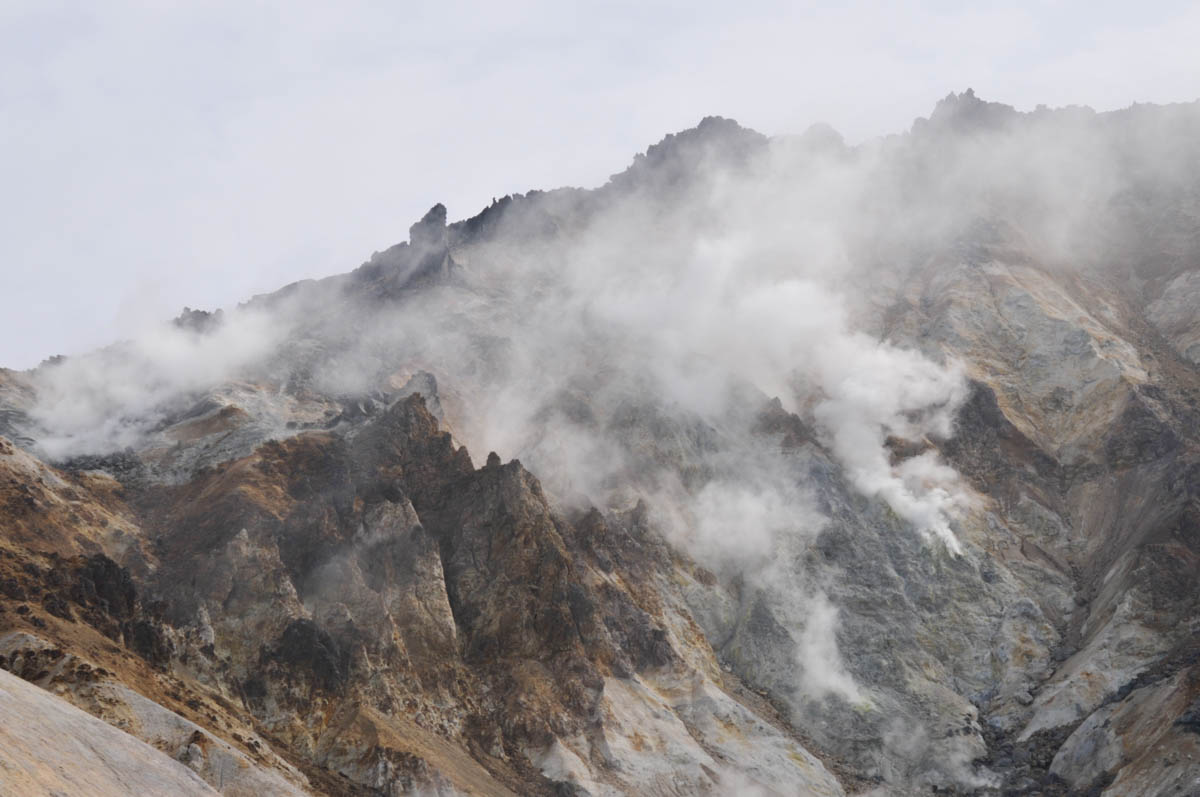 北海道の恵山
