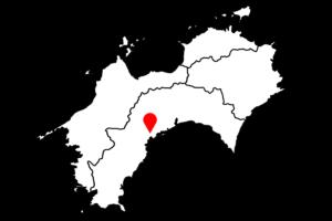 桑田山の雪割桜の場所(小)