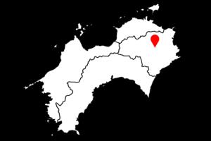 神山町江田地区の菜の花まつりの場所