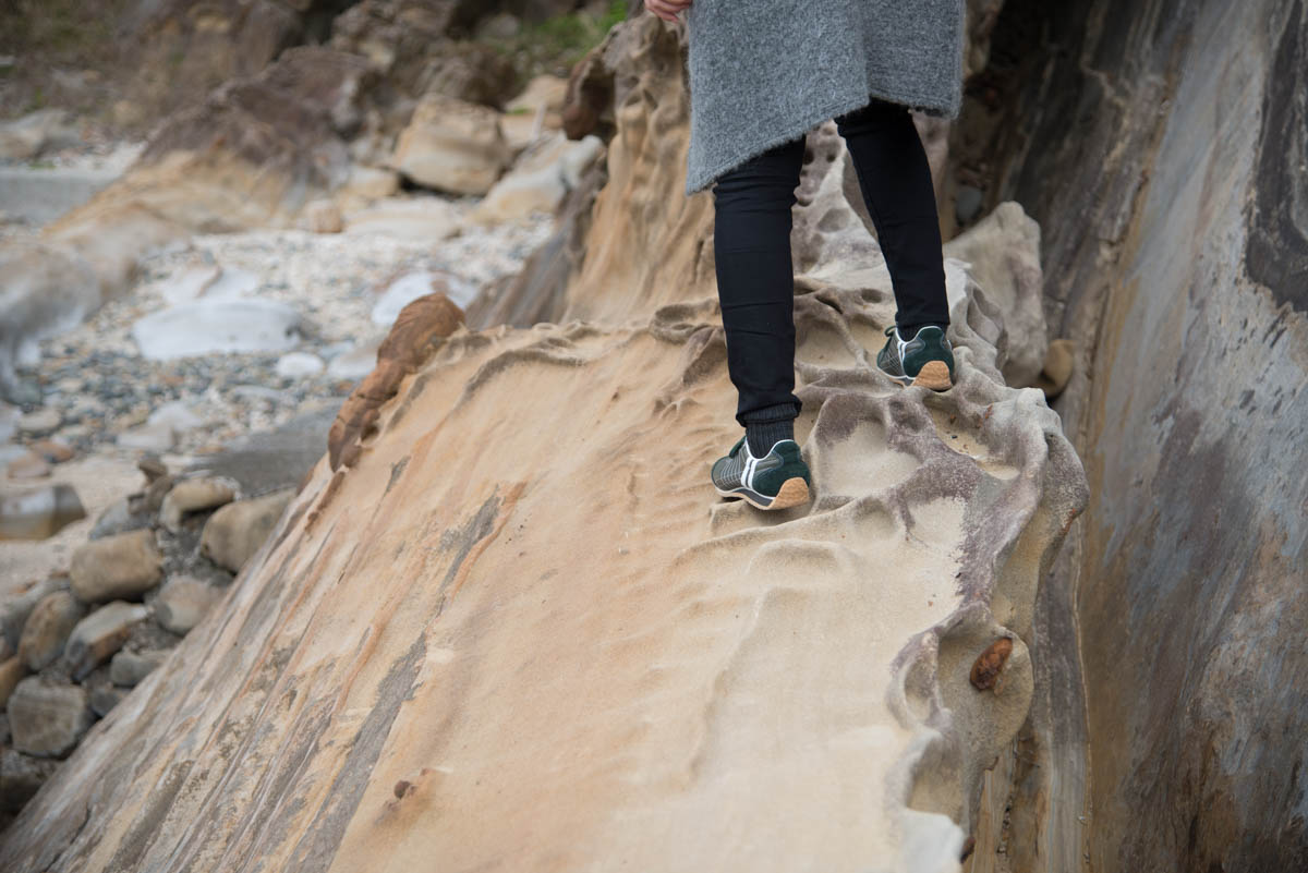 竜串海岸の遊歩道