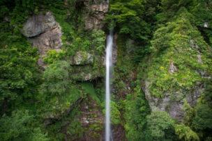 高知県 - 見残しの滝