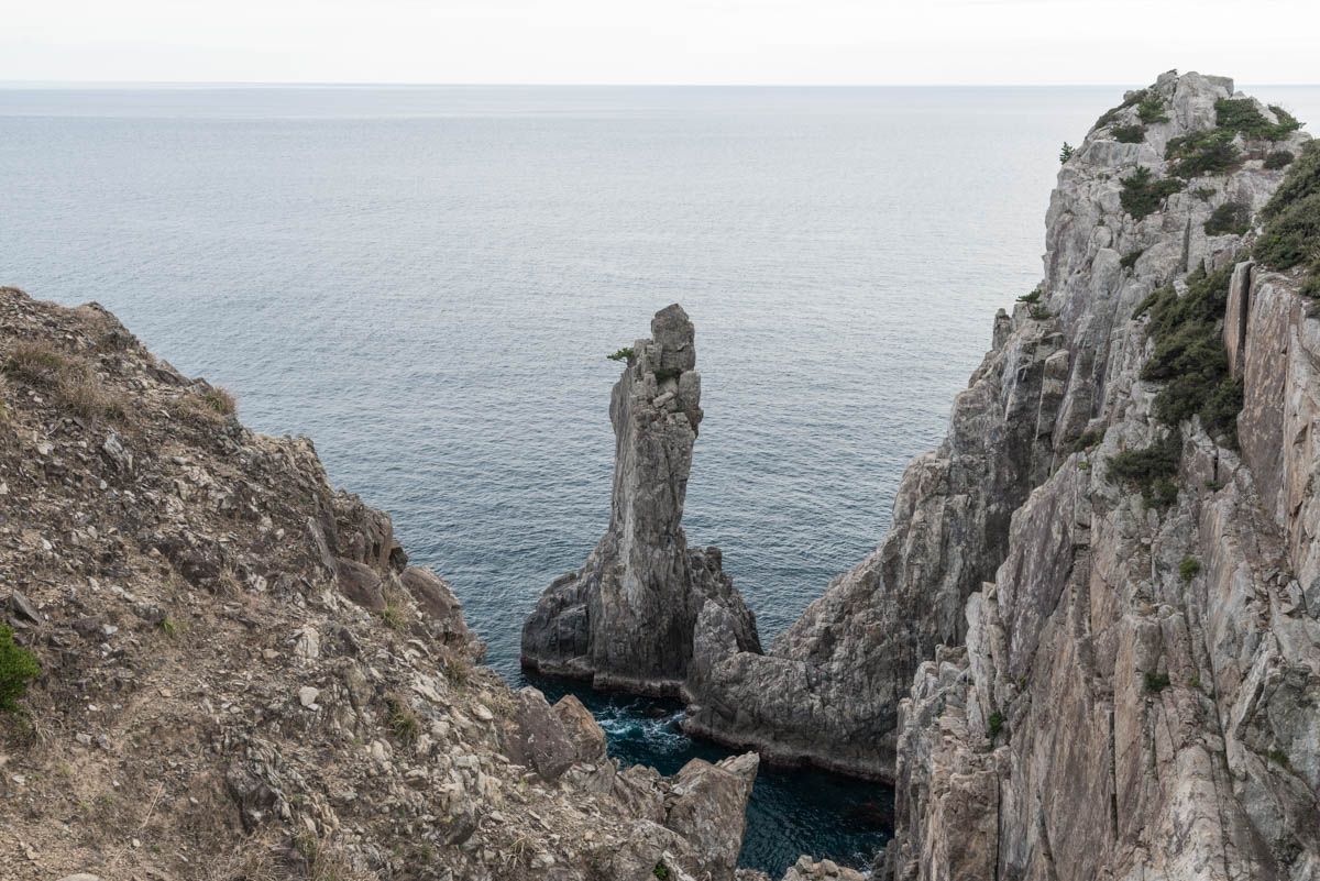 高知県大月町の観音岩