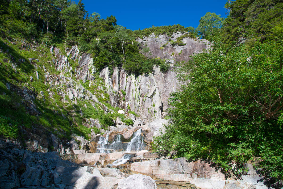 赤木沢の大滝