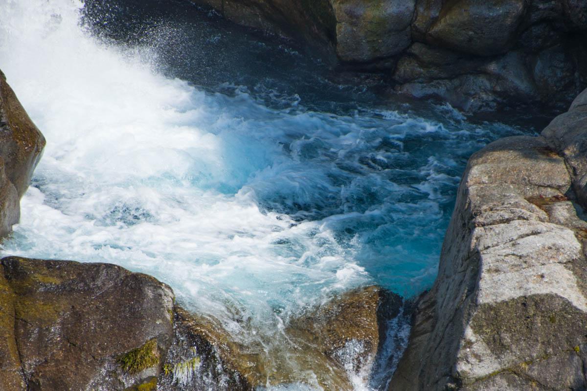 高知県の轟の滝