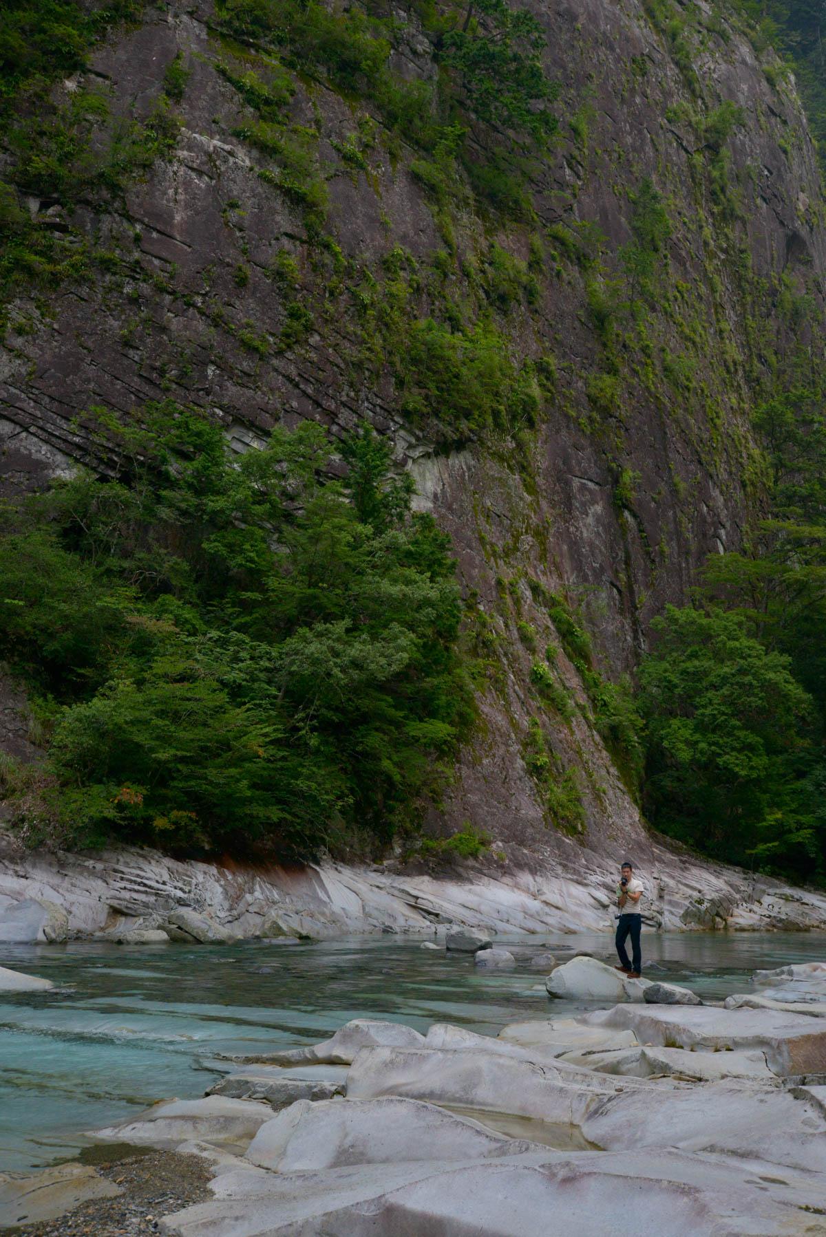 面河渓の亀腹