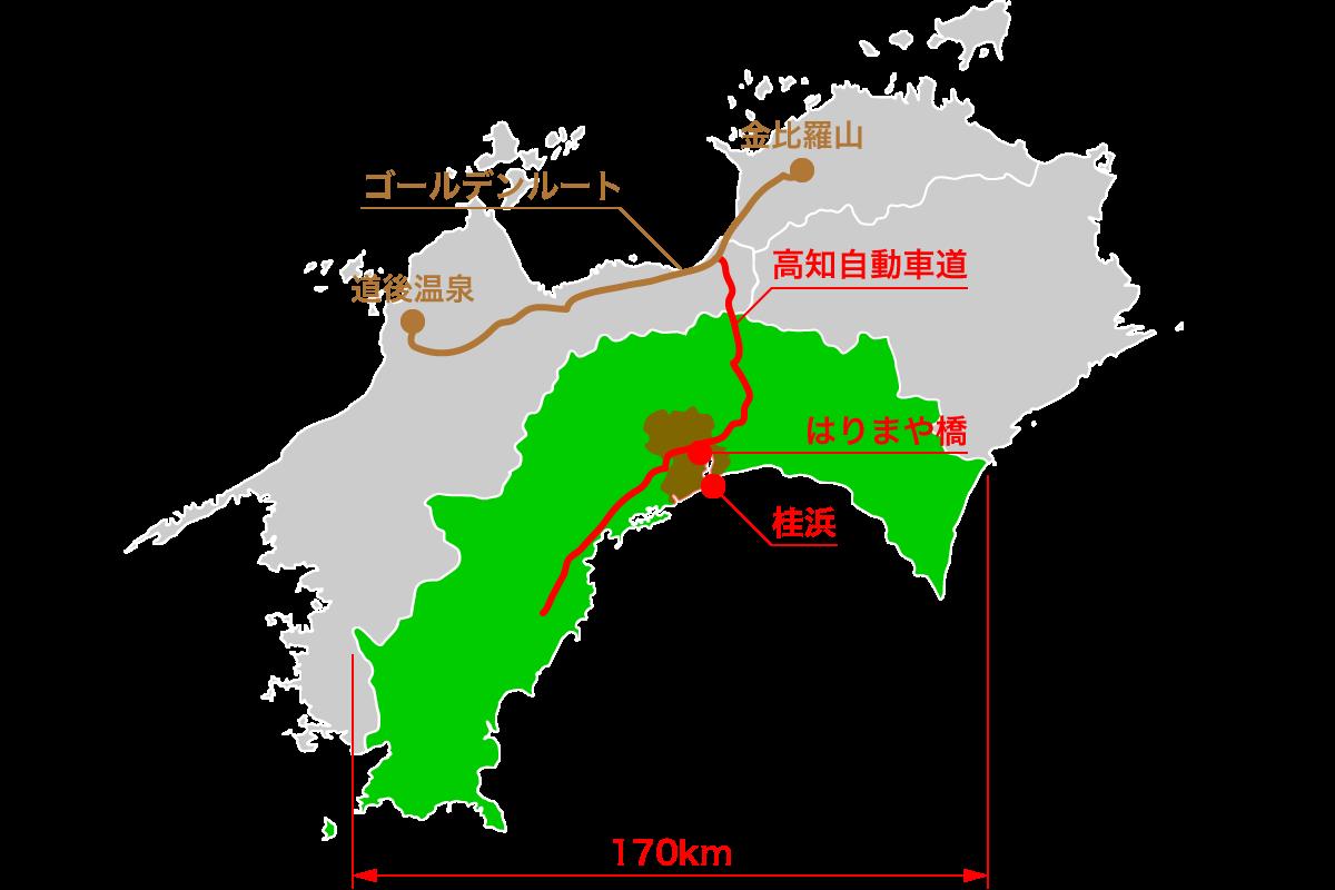 高知県観光の交通2