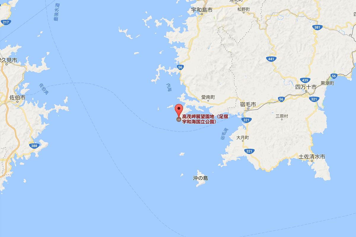 高茂岬の場所