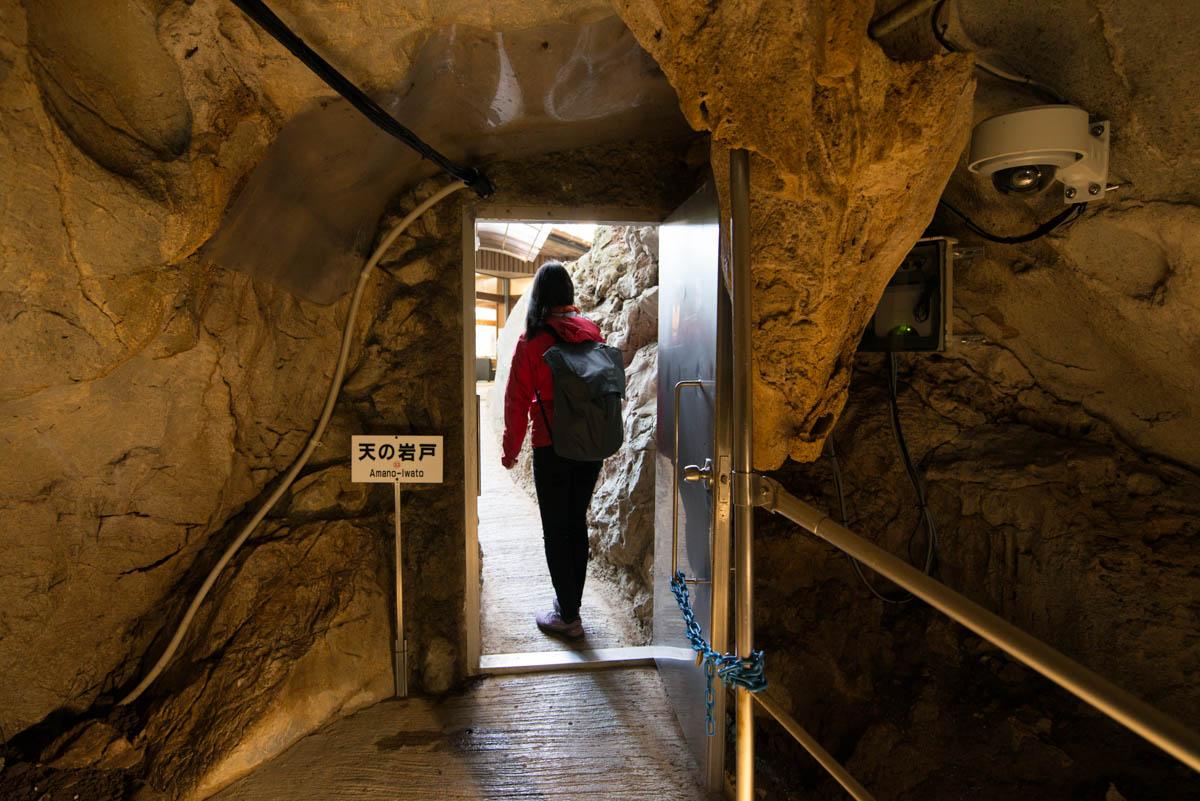 龍河洞の天の岩戸