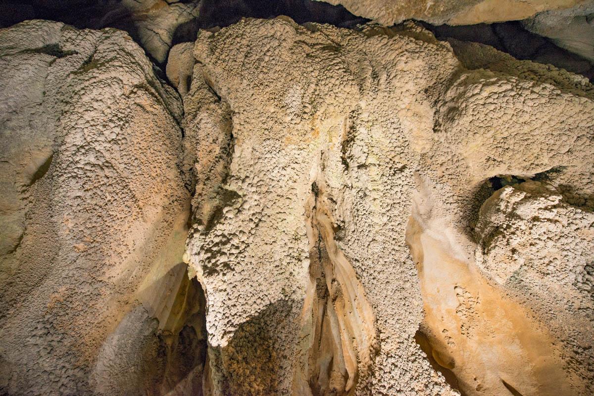 龍河洞の石花殿
