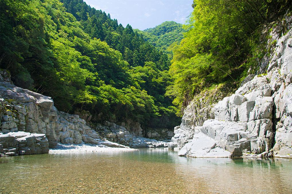 徳島県 - 祖谷渓 - 週末旅行記