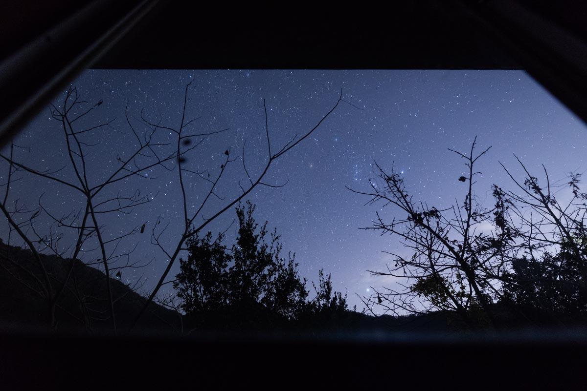 土佐山の星空