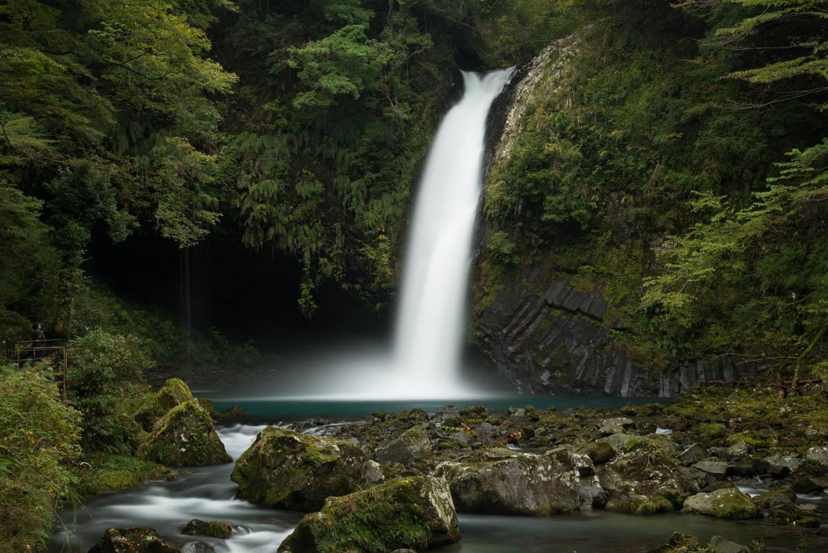 浄蓮の滝 落差25m 日本の滝百選 伊豆を代表する名瀑