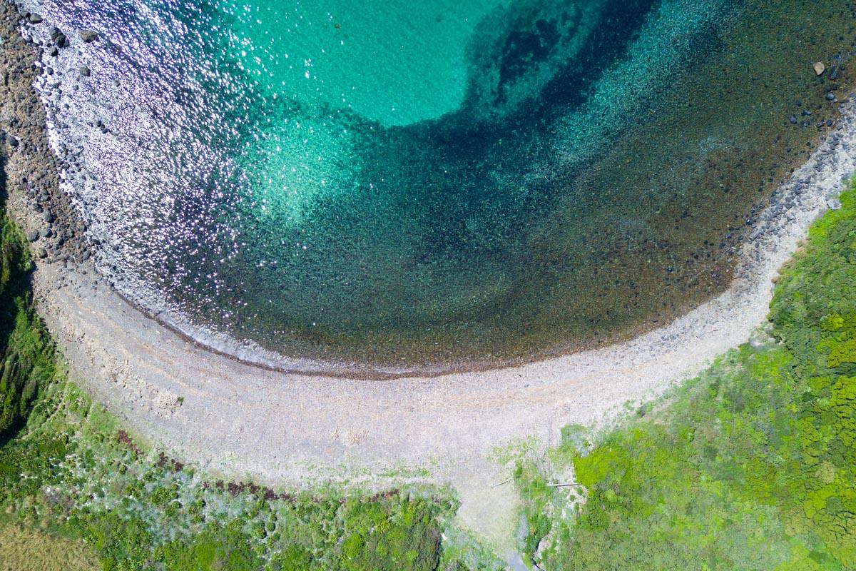 柏島の竜ヶ浜キャンプ場
