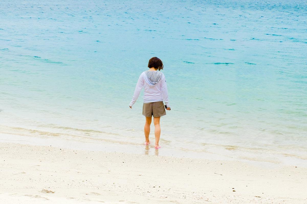 柏島の白浜