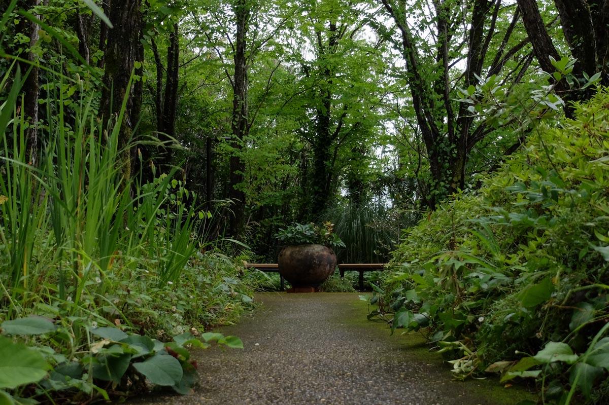 モネの庭の散策路