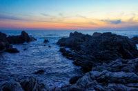 室戸岬の夕日