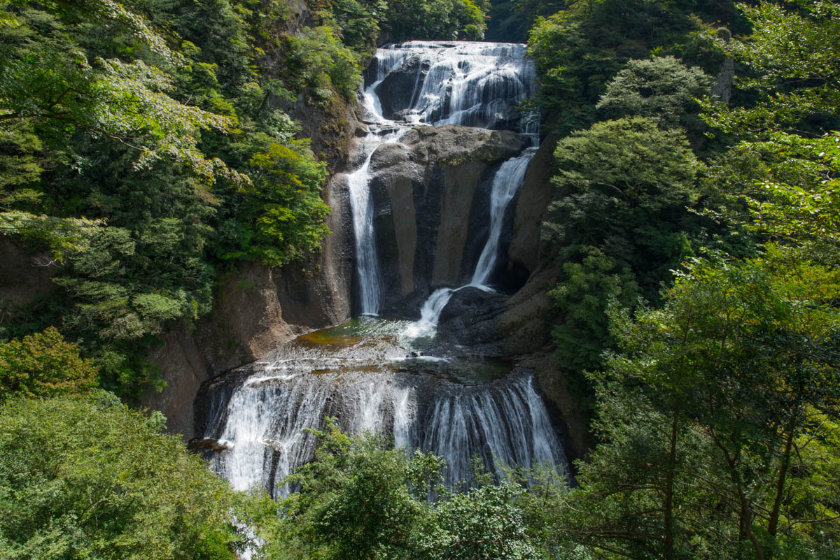 茨城県の袋田の滝