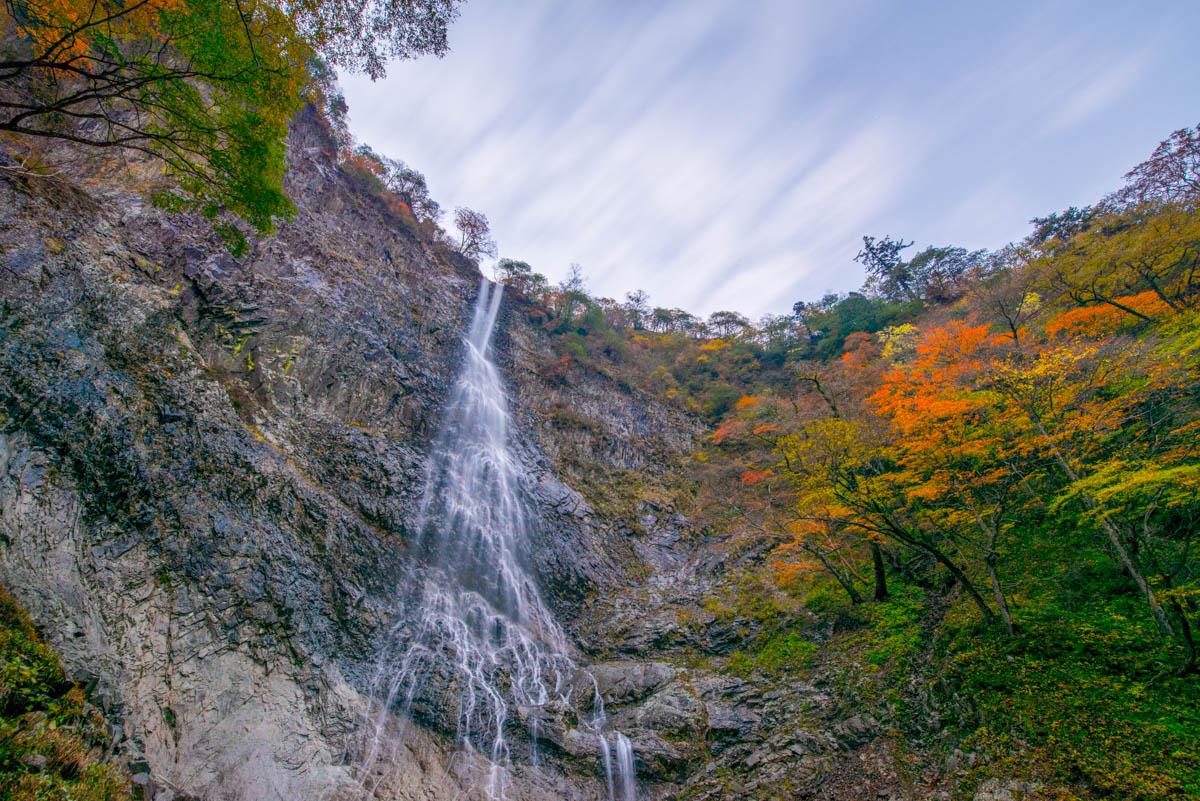 高瀑の紅葉