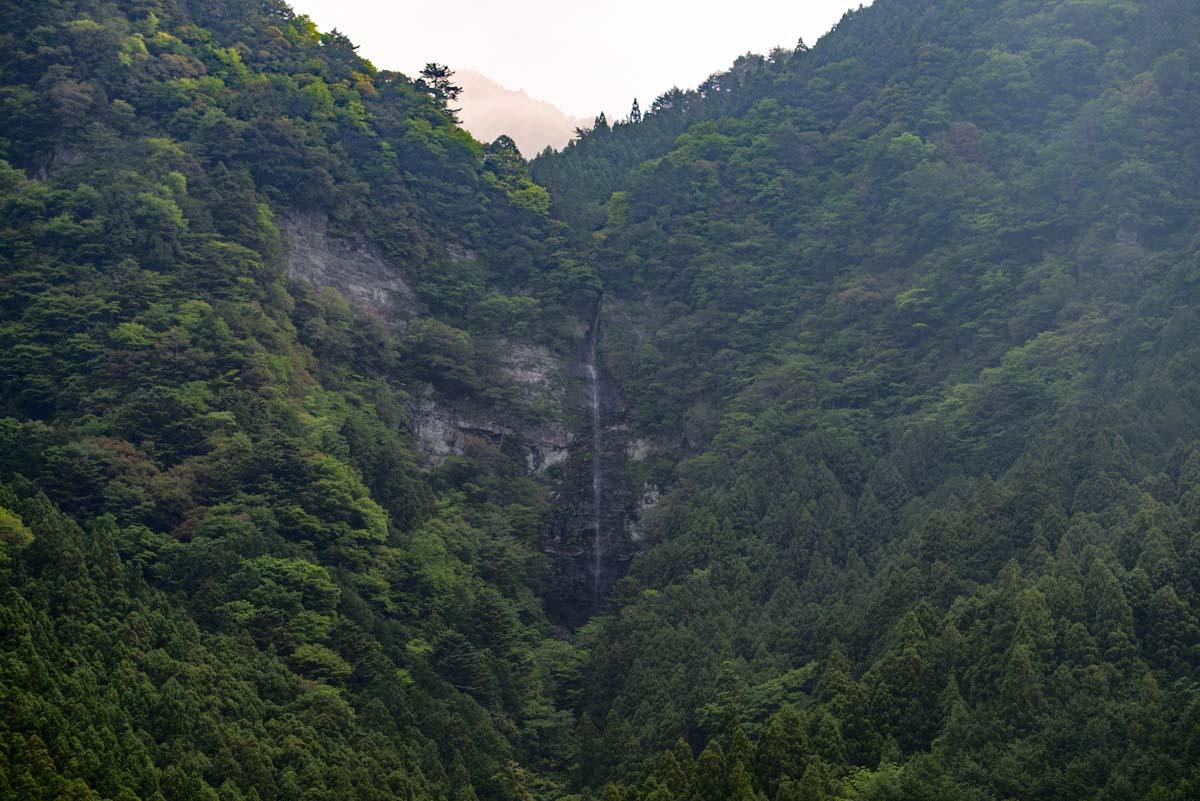 大川村の小金滝