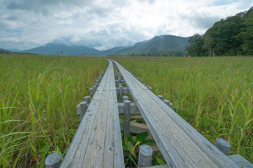 新潟、群馬、福島三県にまたがる尾瀬