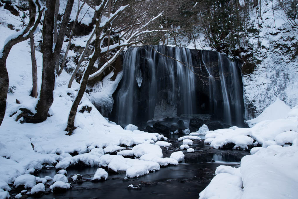 福島県 - 達沢不動滝
