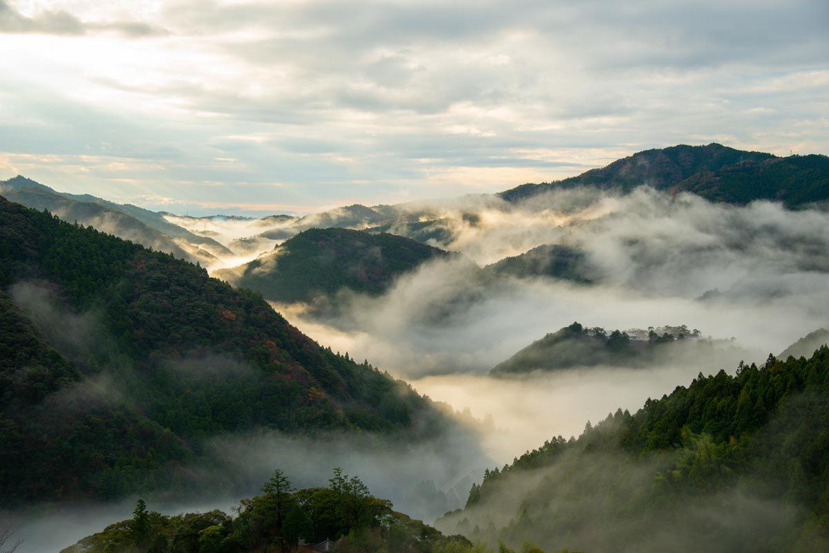 土佐山の景色